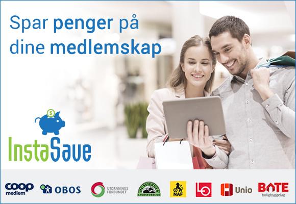 Spar penger på dine medlemskap - InstaSave
